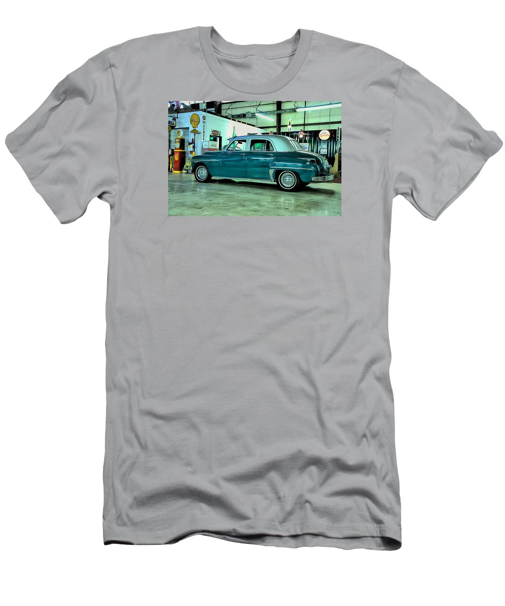 Vintage Men's T-Shirt (Athletic Fit) featuring the photograph Desoto by Sonja Dover