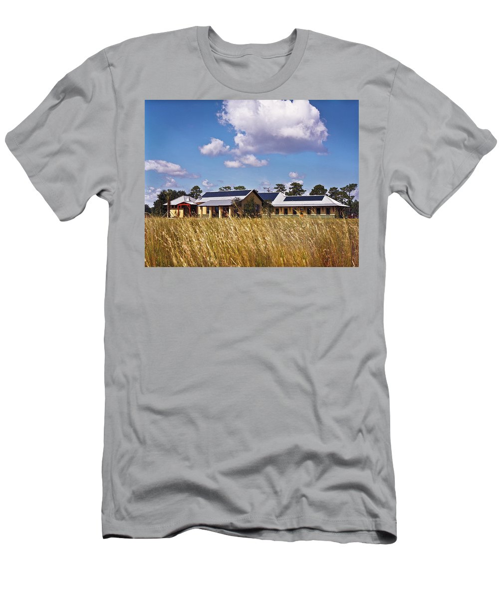 Disney Wilderness Preserve Men's T-Shirt (Athletic Fit) featuring the photograph Disney Wilderness Preserve by Rich Franco