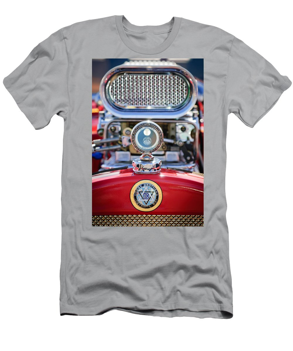 Dodge Brothers Men's T-Shirt (Athletic Fit) featuring the photograph Dodge Brothers - Boyce Motometer by Jill Reger