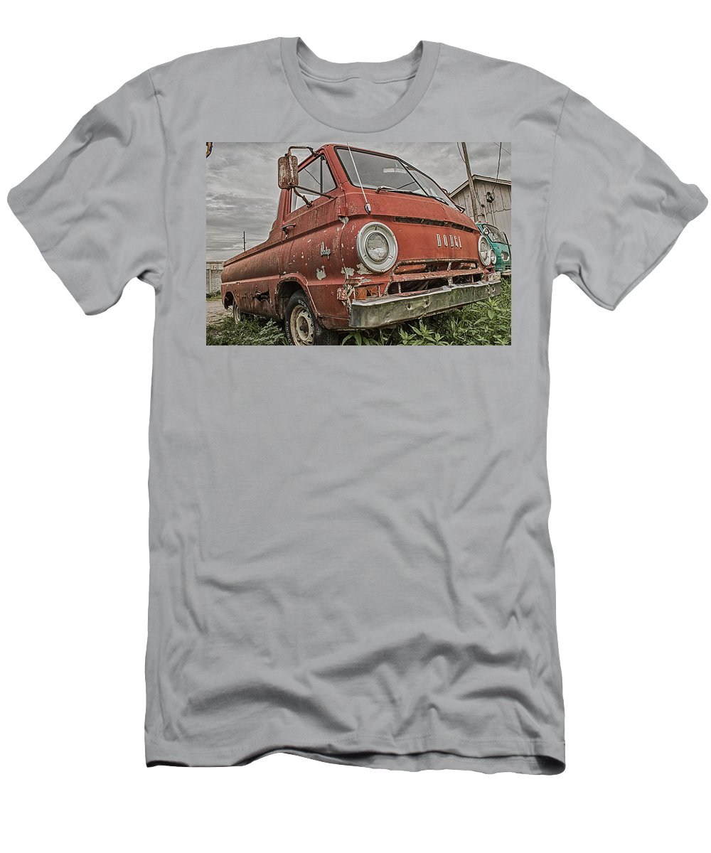 Truck Men's T-Shirt (Athletic Fit) featuring the photograph Dodge by Ken Kobe