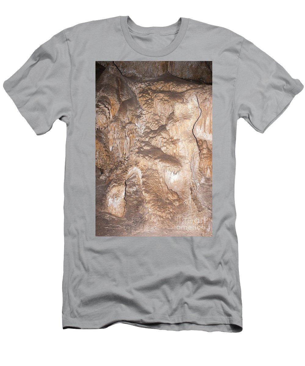 Carlsbad Men's T-Shirt (Athletic Fit) featuring the photograph Dolls Theater Carlsbad Caverns National Park by Fred Stearns