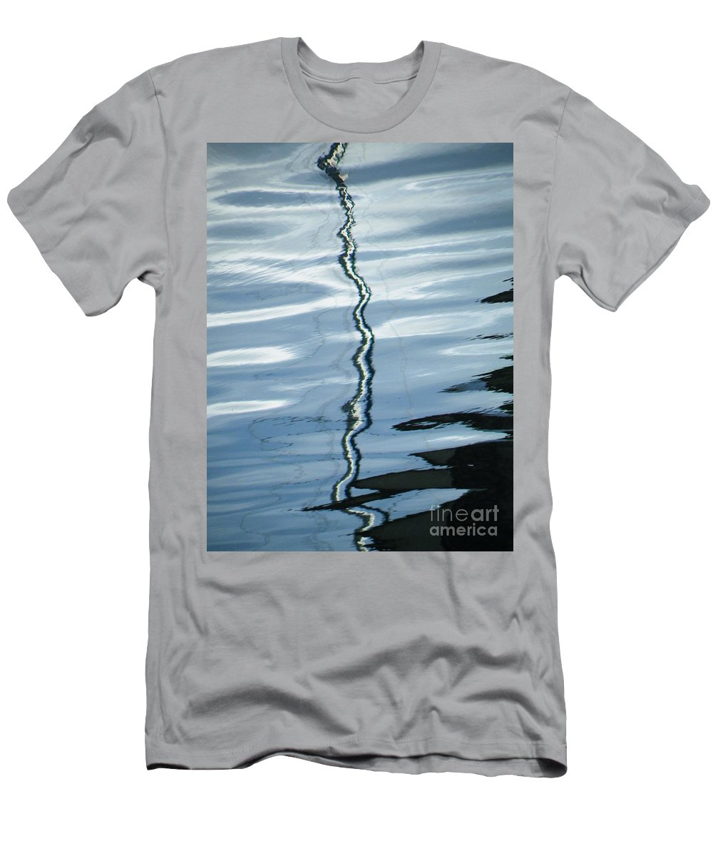 Draughtsman Men's T-Shirt (Athletic Fit) featuring the photograph Draughtsman Of The Deep by Brian Boyle