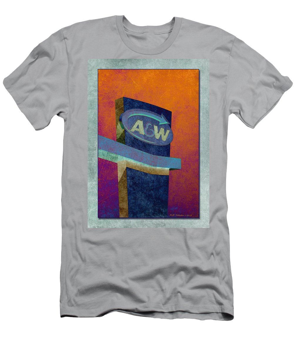 Drive Through Men's T-Shirt (Athletic Fit) featuring the photograph Drive Thru II by WB Johnston
