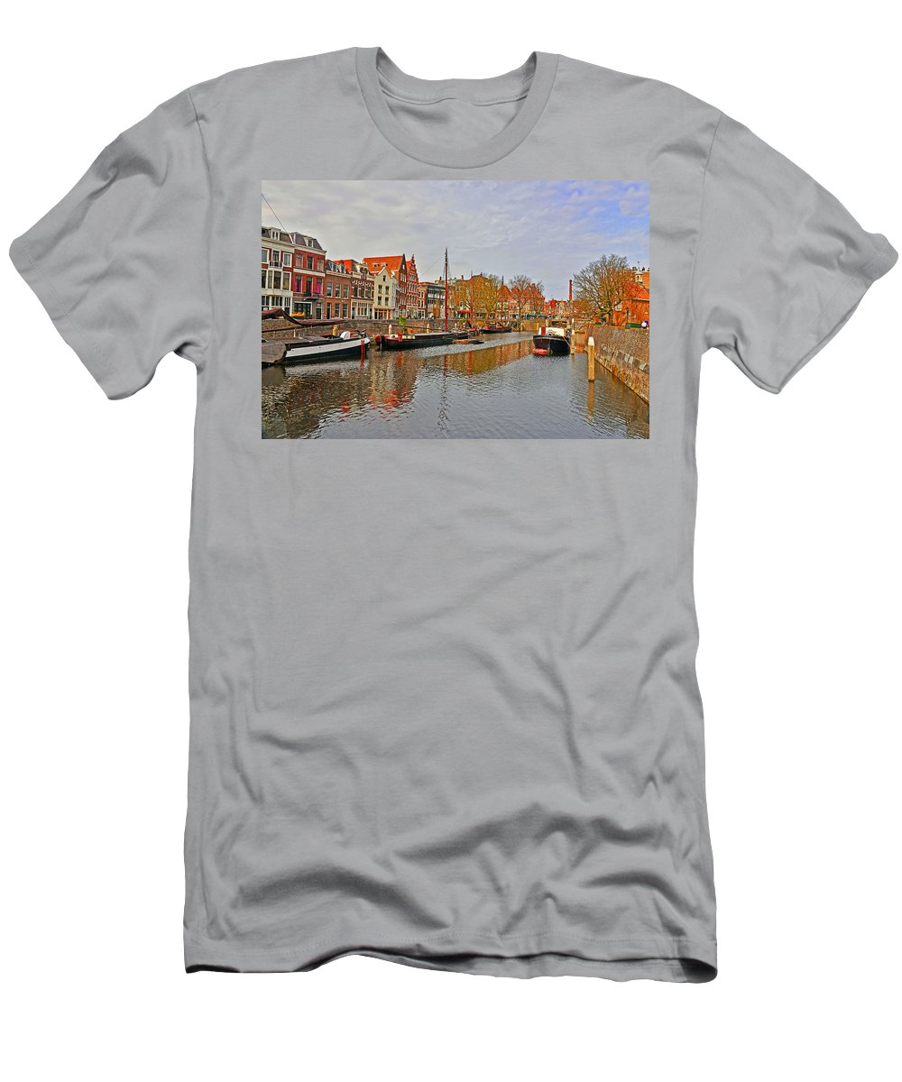 Travel Men's T-Shirt (Athletic Fit) featuring the photograph Dutch Living by Elvis Vaughn