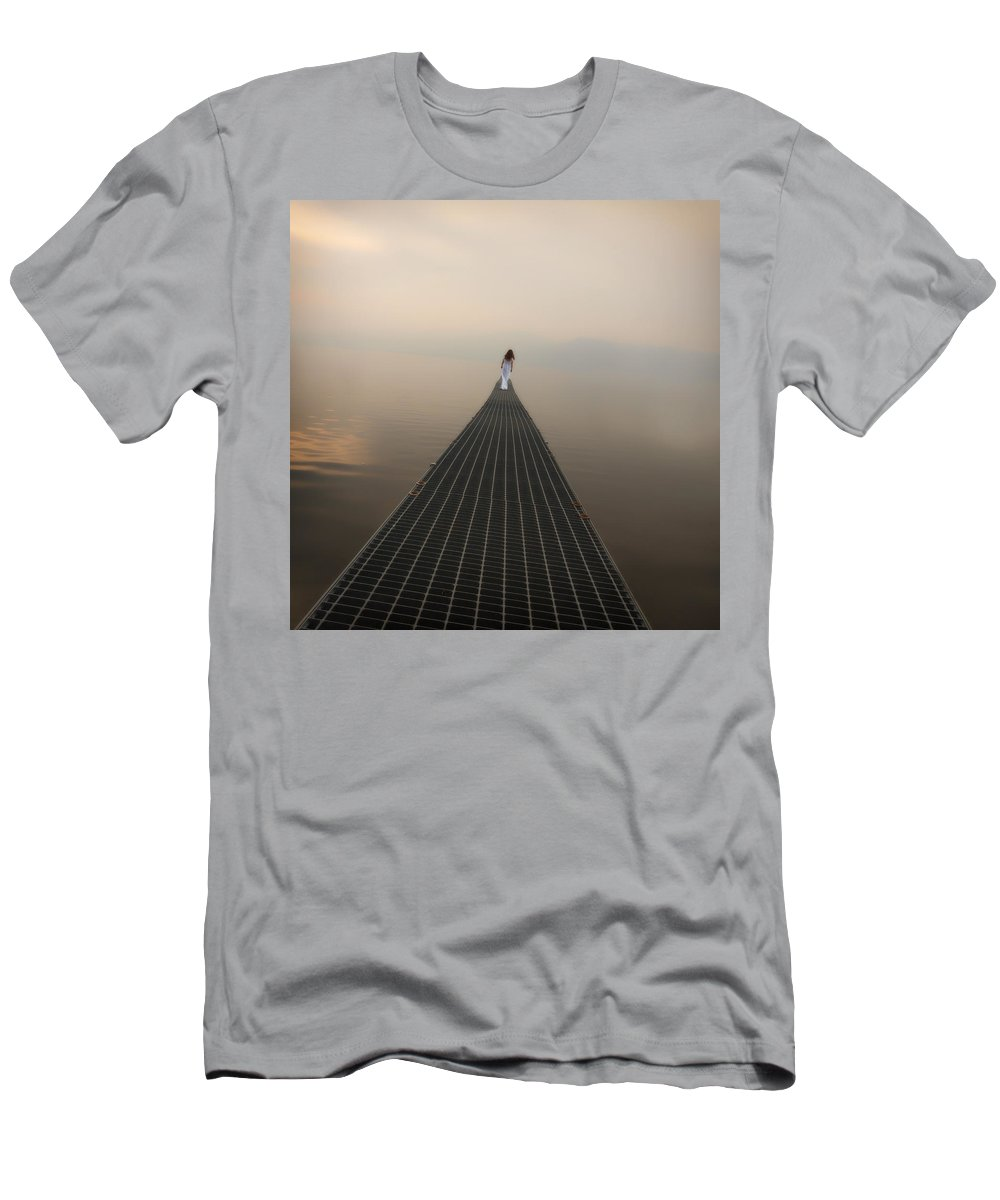 Woman Men's T-Shirt (Athletic Fit) featuring the photograph Endlessly by Joana Kruse