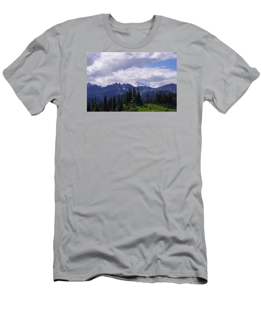 Extraordinary Men's T-Shirt (Athletic Fit) featuring the photograph Extraordinary Heights by Mike and Sharon Mathews