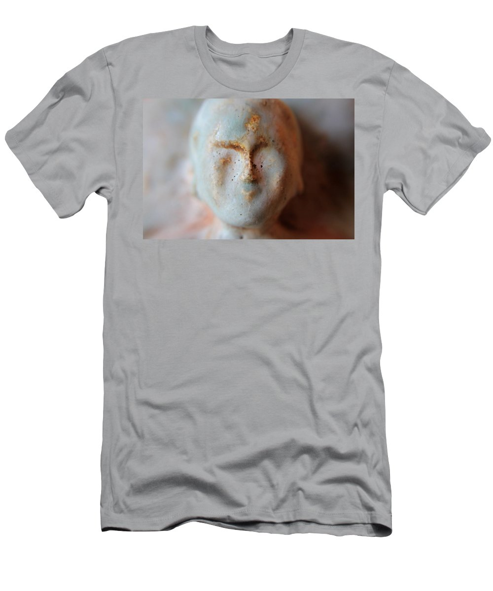 Buda Men's T-Shirt (Athletic Fit) featuring the photograph Face Of Buda by Robert Phelan