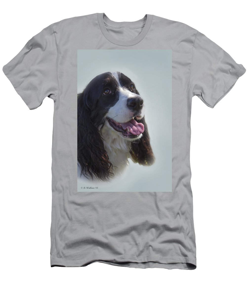 2d Men's T-Shirt (Athletic Fit) featuring the photograph Faithful Companion by Brian Wallace