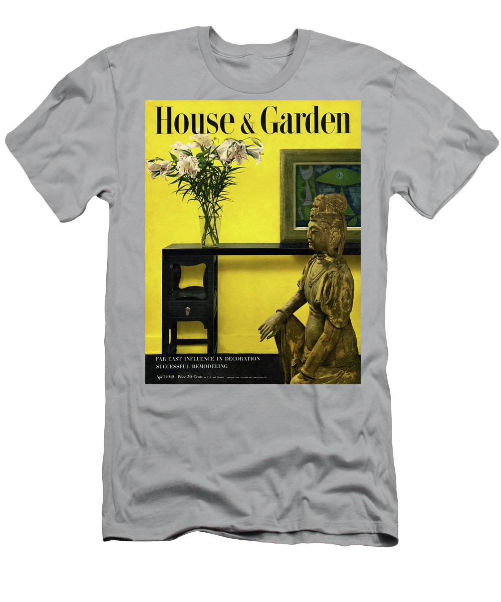 Photograph T-Shirt featuring the photograph Far-east Influenced Decoration by Haanel Cassidy