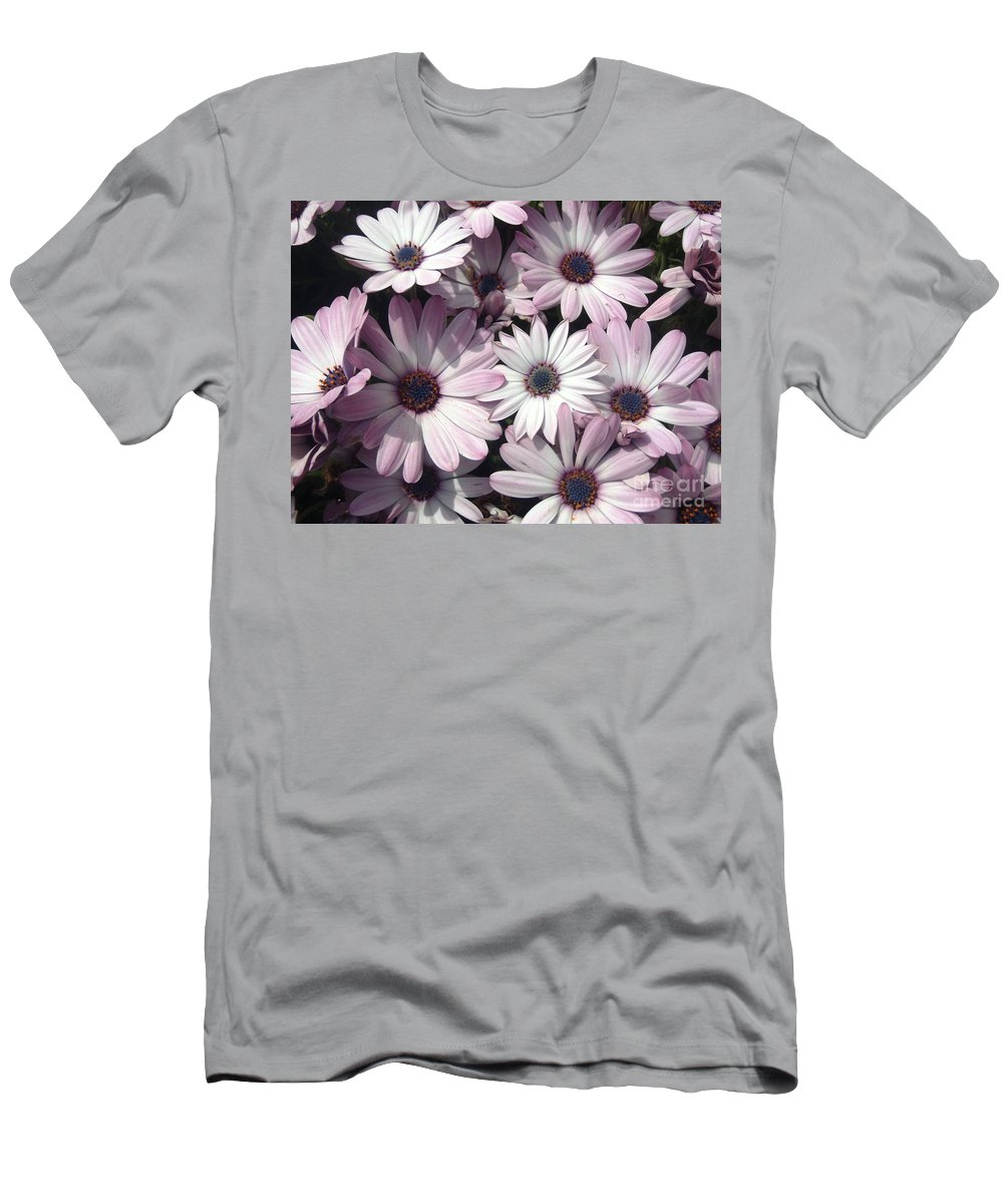 Photograph Men's T-Shirt (Athletic Fit) featuring the photograph Flowers by Cristina Stefan