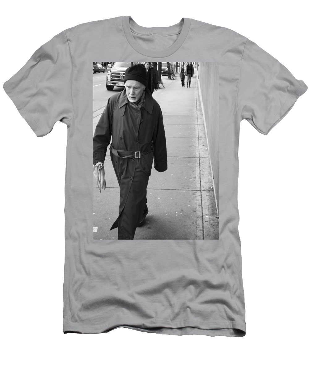 Vancouver Men's T-Shirt (Athletic Fit) featuring the photograph Forthside Habits by The Artist Project