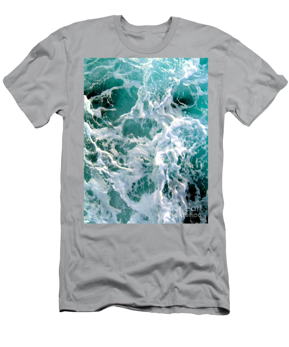 White Men's T-Shirt (Athletic Fit) featuring the photograph Fresh by Anita Lewis