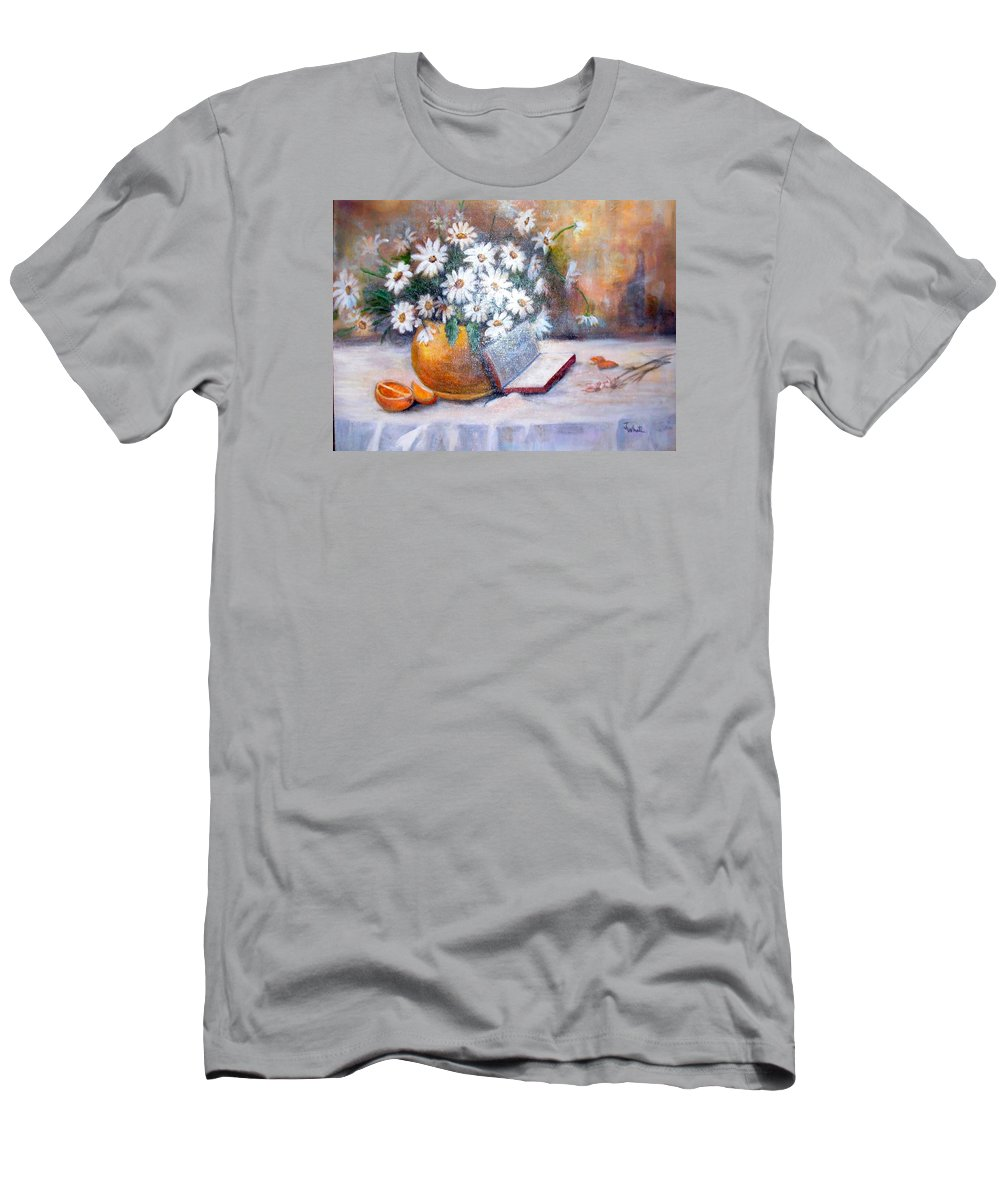 Bible Men's T-Shirt (Athletic Fit) featuring the painting Fruit Of The Spirit by Judie White