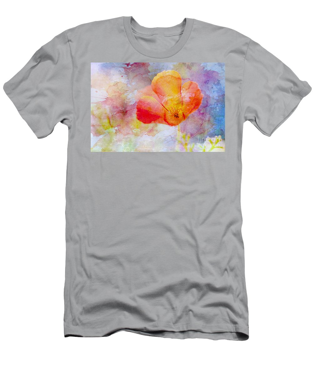 Nature Men's T-Shirt (Athletic Fit) featuring the photograph Gentle Touch by Heidi Smith