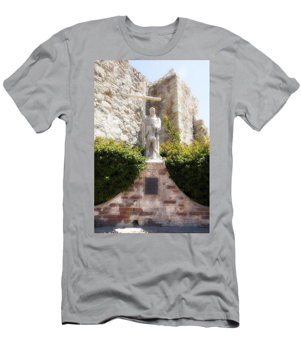 Giovanni Da Capistrano Men's T-Shirt (Athletic Fit) featuring the photograph Giovanni Da Capistrano by Hugh Smith