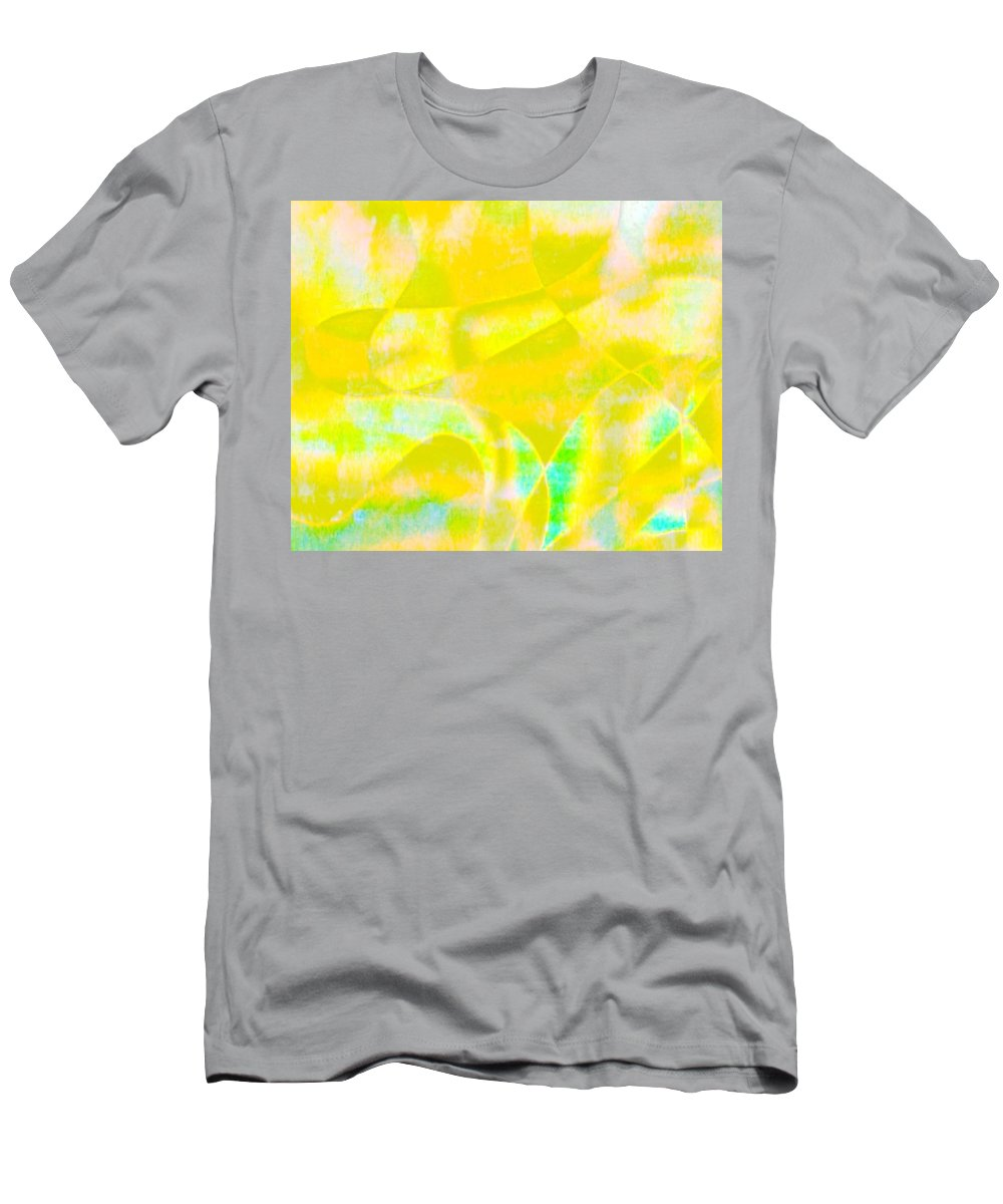 Genio Men's T-Shirt (Athletic Fit) featuring the mixed media Golden Music by Genio GgXpress