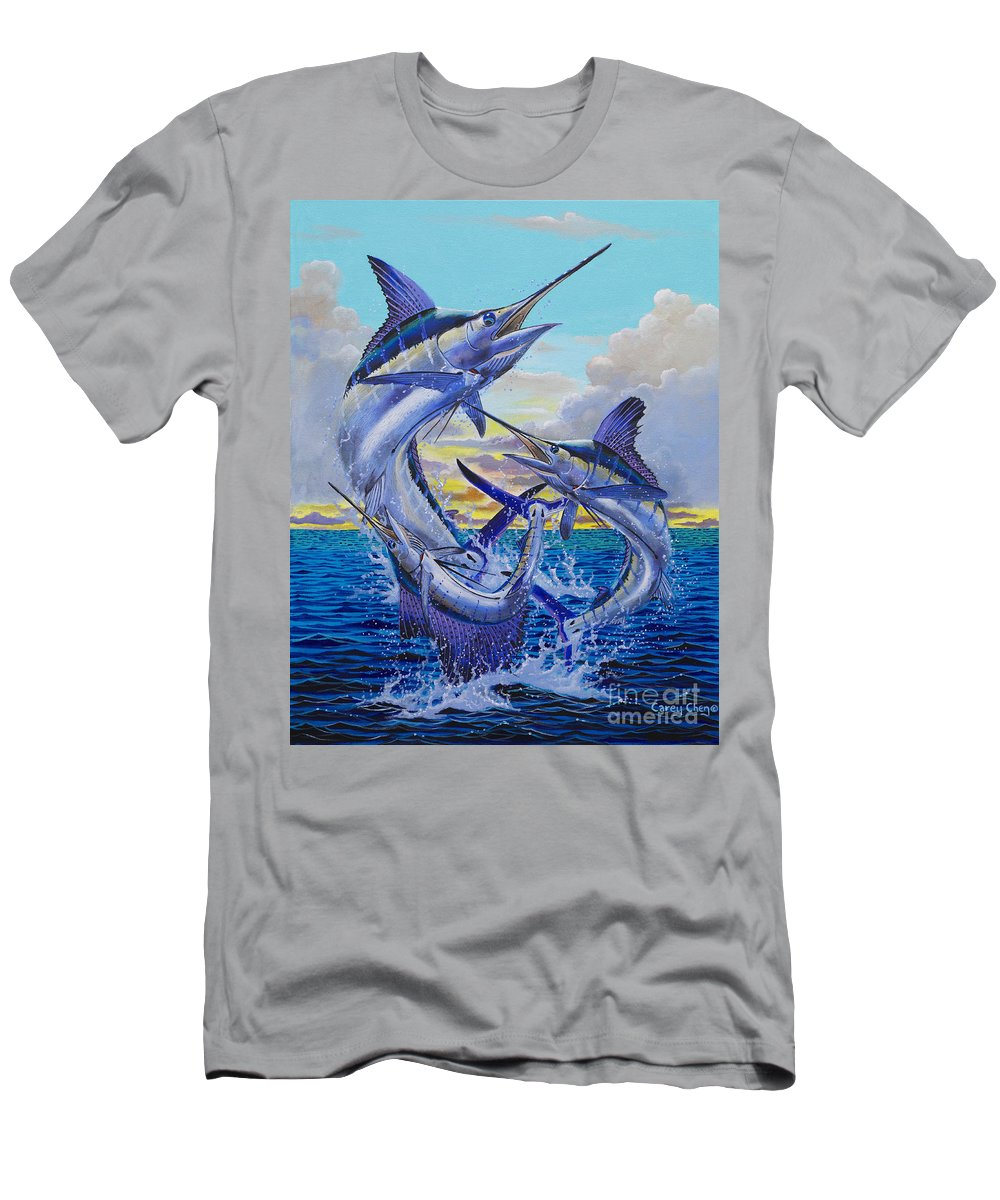 Grand Slam T-Shirt featuring the painting Grand Slam Off0016 by Carey Chen