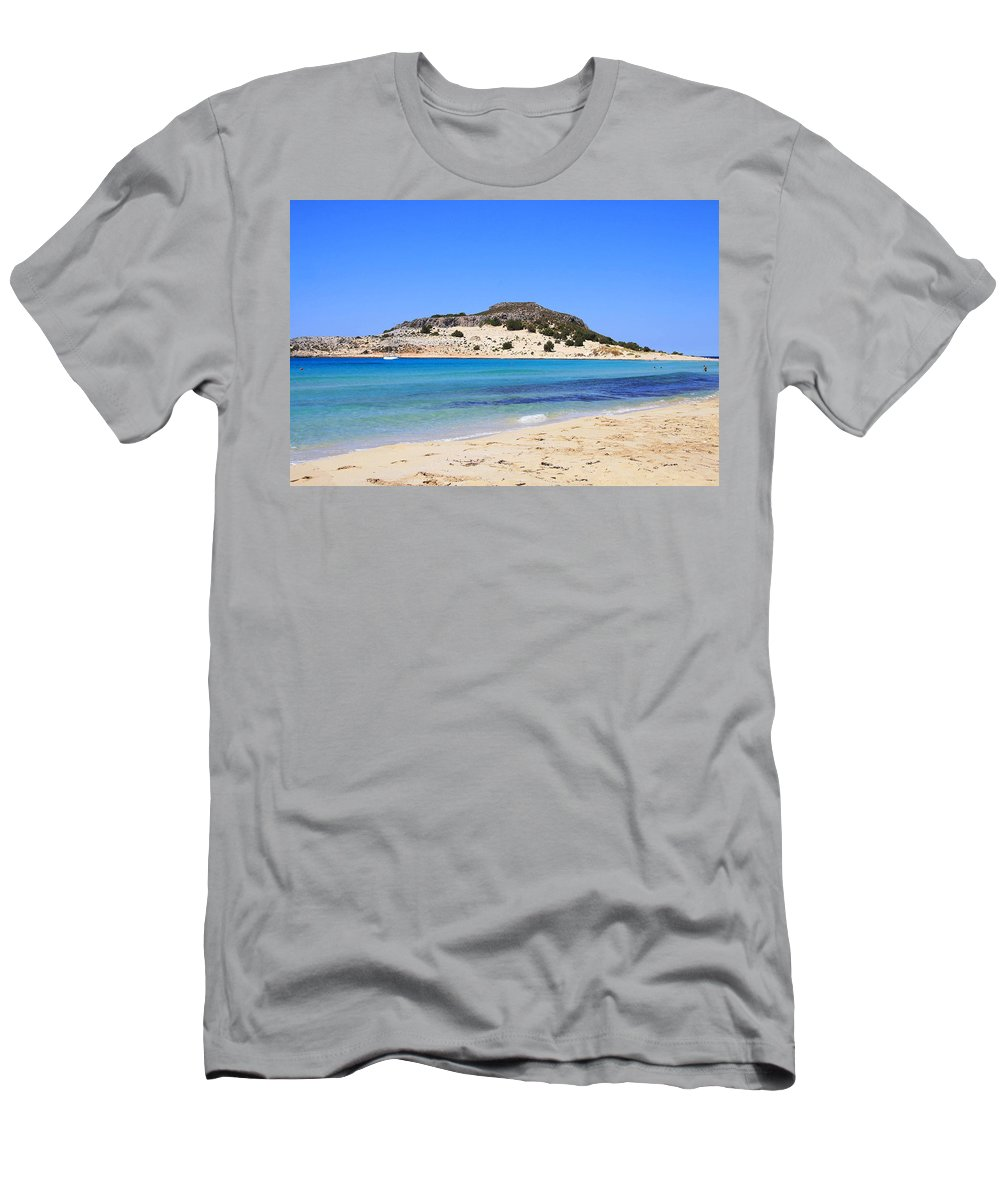 Men's T-Shirt (Athletic Fit) featuring the photograph Greece-elafonissos by Alexandros Petrides