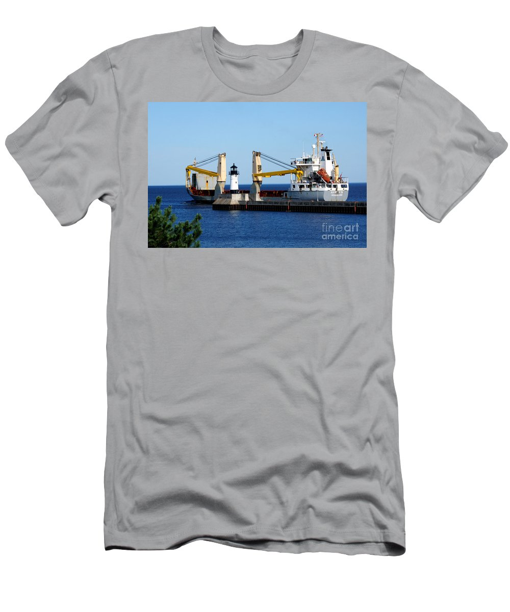 Ship Men's T-Shirt (Athletic Fit) featuring the photograph Han Xin Ship by Lori Tordsen