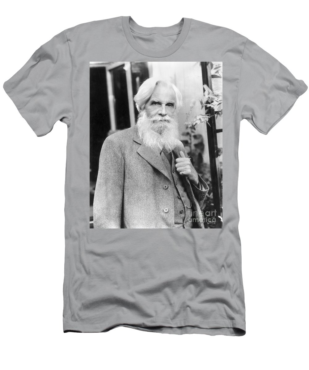 20th Century Men's T-Shirt (Athletic Fit) featuring the photograph Havelock Ellis (1859-1939) by Granger