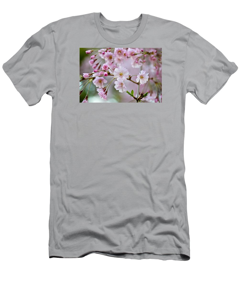 Pink Men's T-Shirt (Athletic Fit) featuring the photograph Heavenly Sweet by Julie Andel