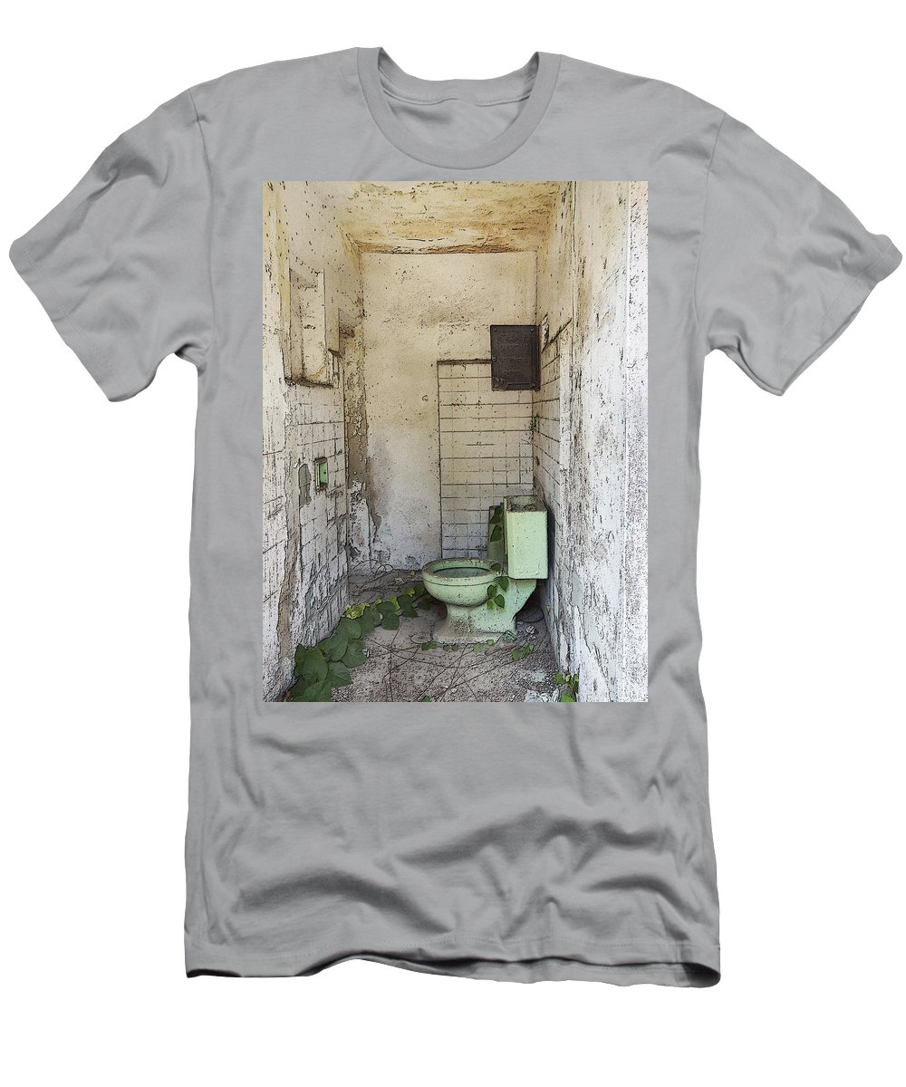 Anne Mott Men's T-Shirt (Athletic Fit) featuring the photograph I Can't Keep It In by Anne Mott