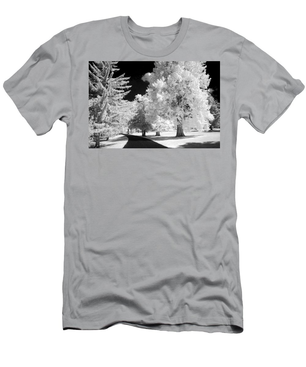 Infrared Men's T-Shirt (Athletic Fit) featuring the photograph Infrared Delight by Paul W Faust - Impressions of Light