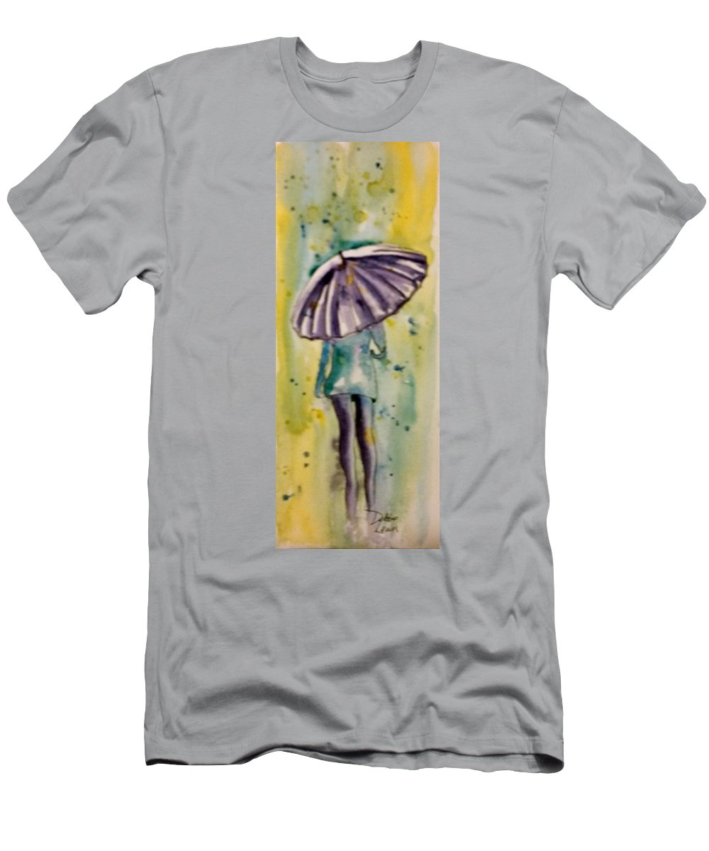 Jo Malone Men's T-Shirt (Athletic Fit) featuring the painting Jo Malone 6 by Debbie Lewis