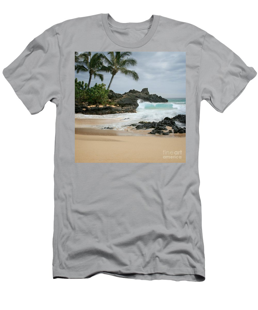 Aloha Men's T-Shirt (Athletic Fit) featuring the photograph Journey Of Discovery by Sharon Mau