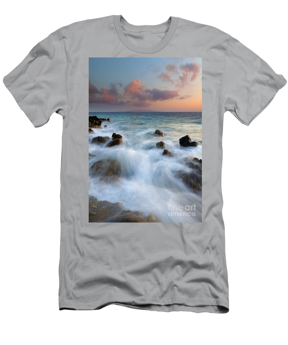 Kahoolawe T-Shirt featuring the photograph Kahoolawe Sunset by Mike Dawson