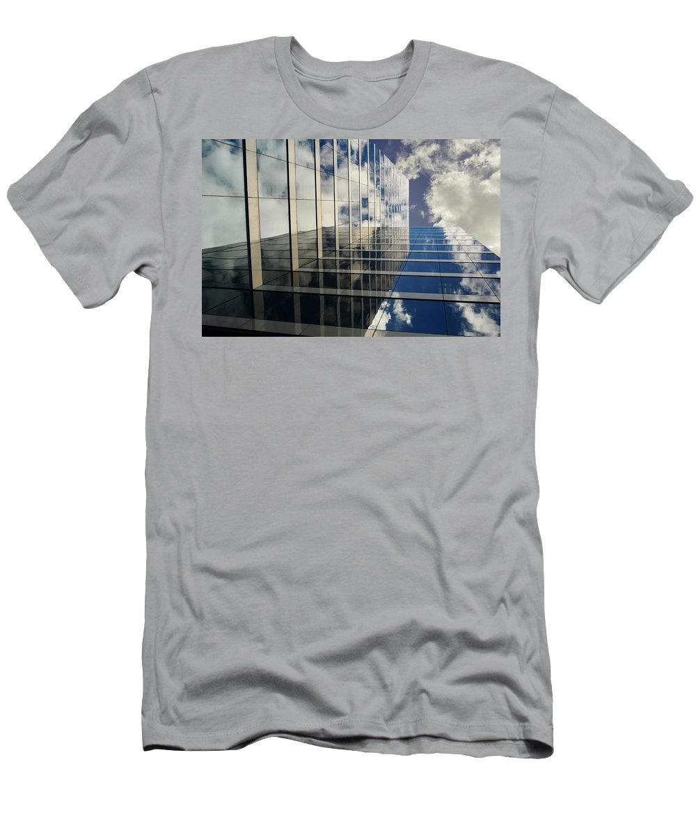Sky Men's T-Shirt (Athletic Fit) featuring the photograph Kiss The Sky by Laura Fasulo
