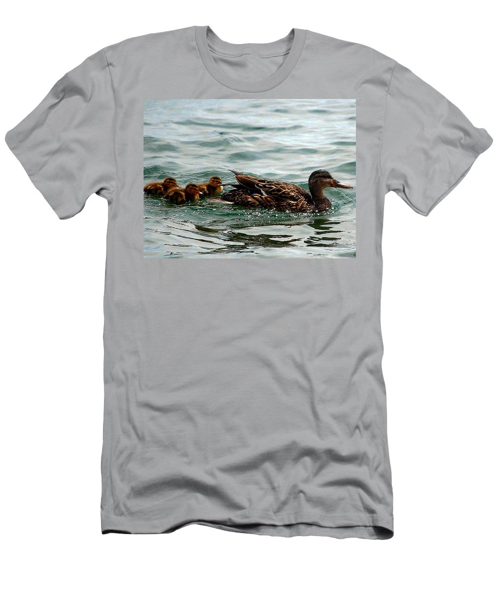 Men's T-Shirt (Athletic Fit) featuring the photograph Leading The Way by Kim Blaylock