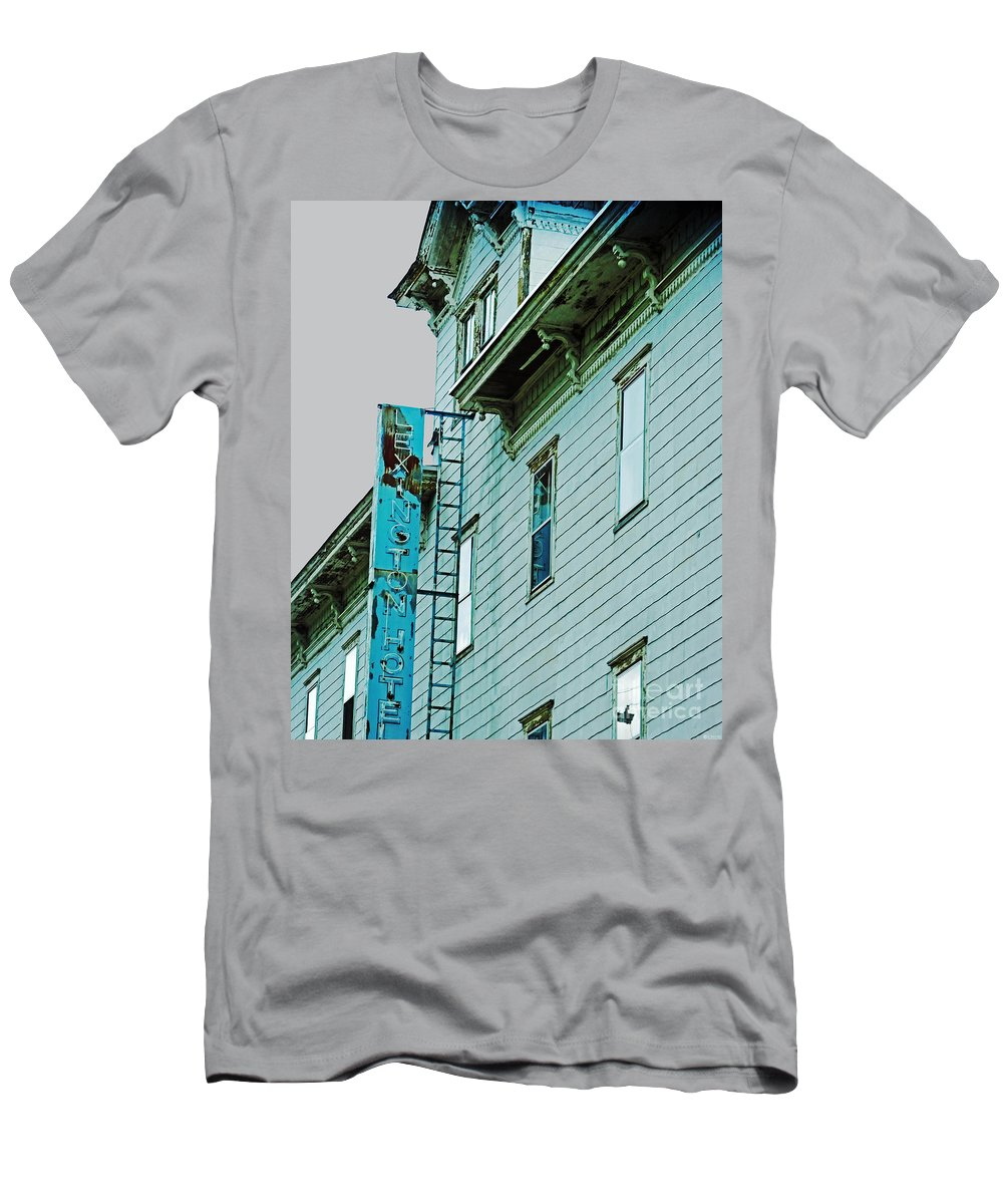 Hotel Men's T-Shirt (Athletic Fit) featuring the photograph Lexington Hotel Lexington New York by Lizi Beard-Ward