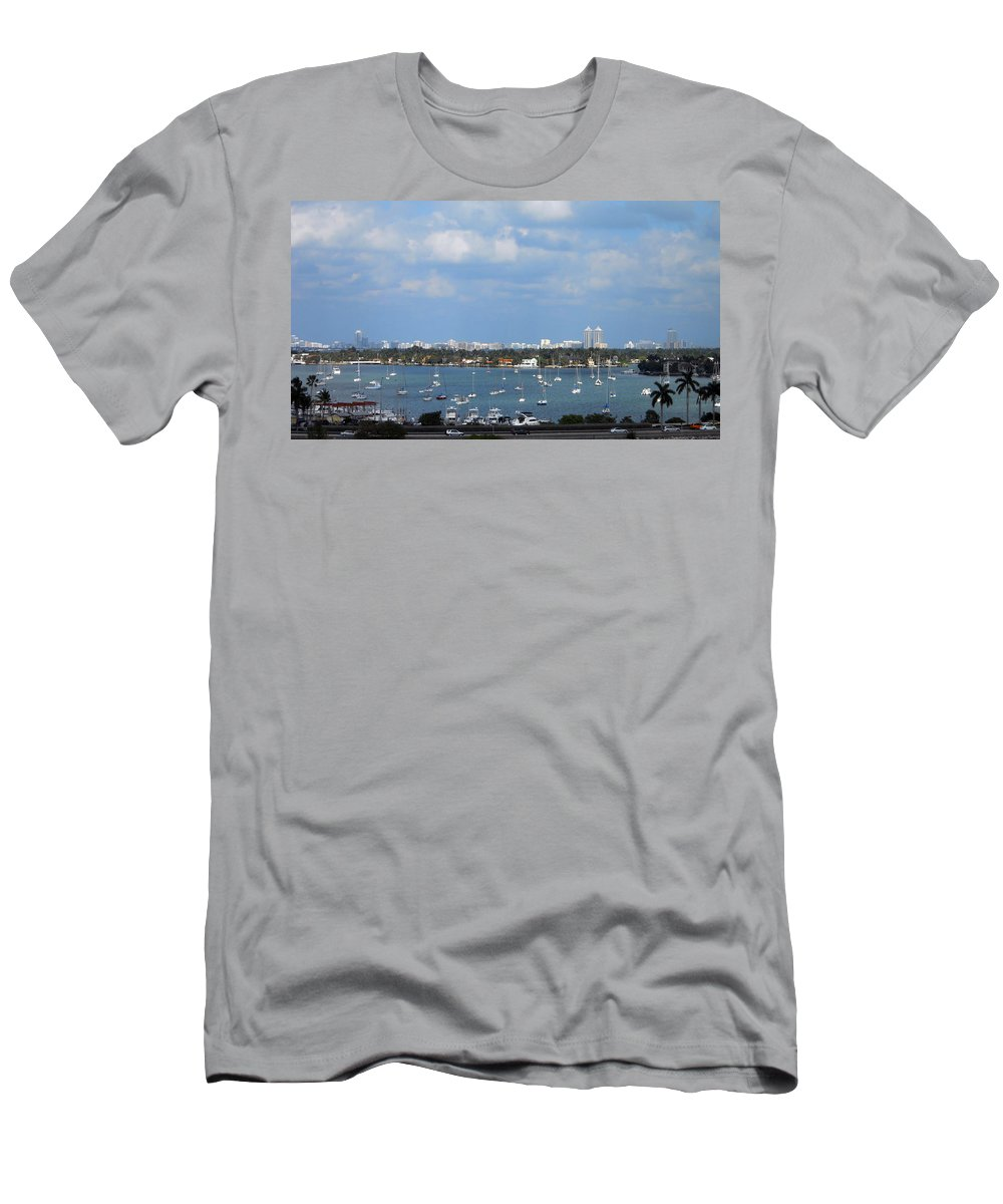 Bay Men's T-Shirt (Athletic Fit) featuring the photograph Living The Good Life by Judy Hall-Folde