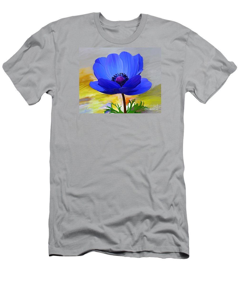 Fine Art Men's T-Shirt (Athletic Fit) featuring the painting Lord Lieutenant by Patricia Griffin Brett