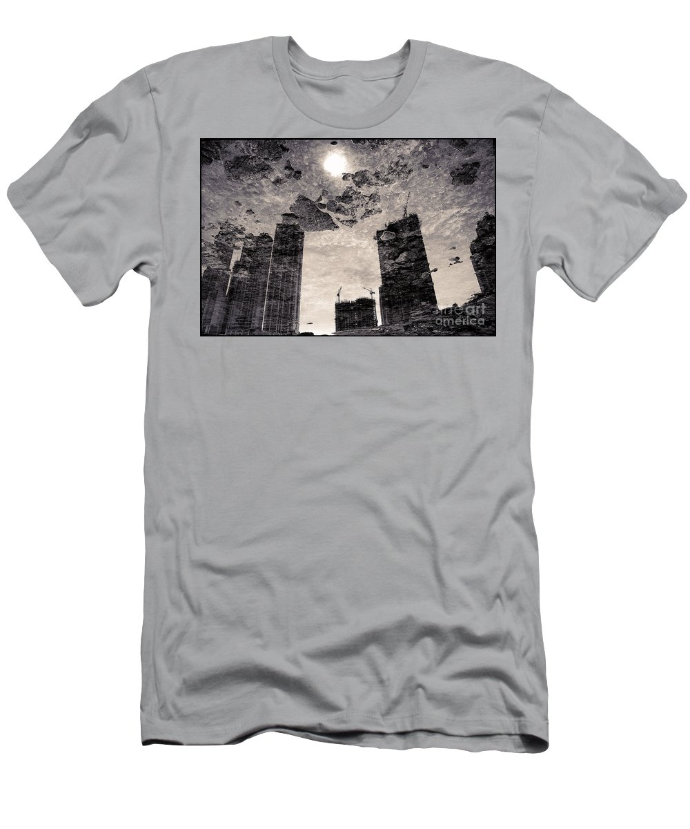 Bay Men's T-Shirt (Athletic Fit) featuring the photograph Bahia Panama 2 by Gabriel G Medina