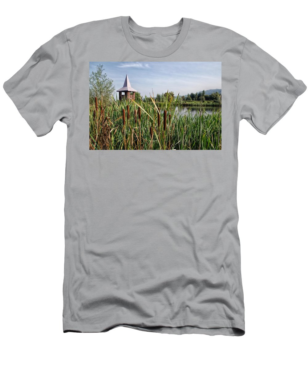 Lower-bruckland Men's T-Shirt (Athletic Fit) featuring the photograph Lower Bruckland Nature Reserve by Susie Peek