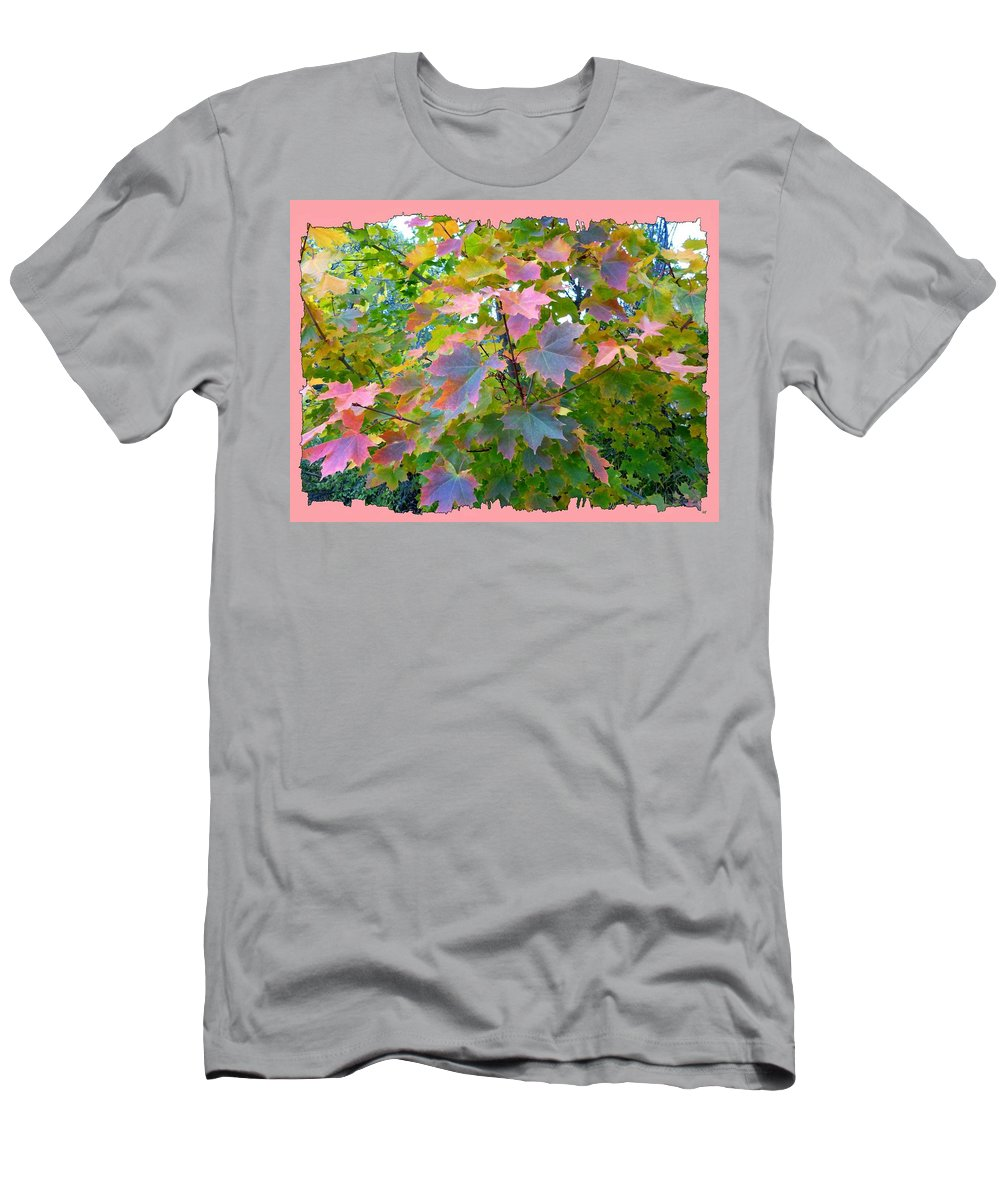 Maple Magnetism Painting Men's T-Shirt (Athletic Fit) featuring the digital art Maple Magnetism Painting by Will Borden