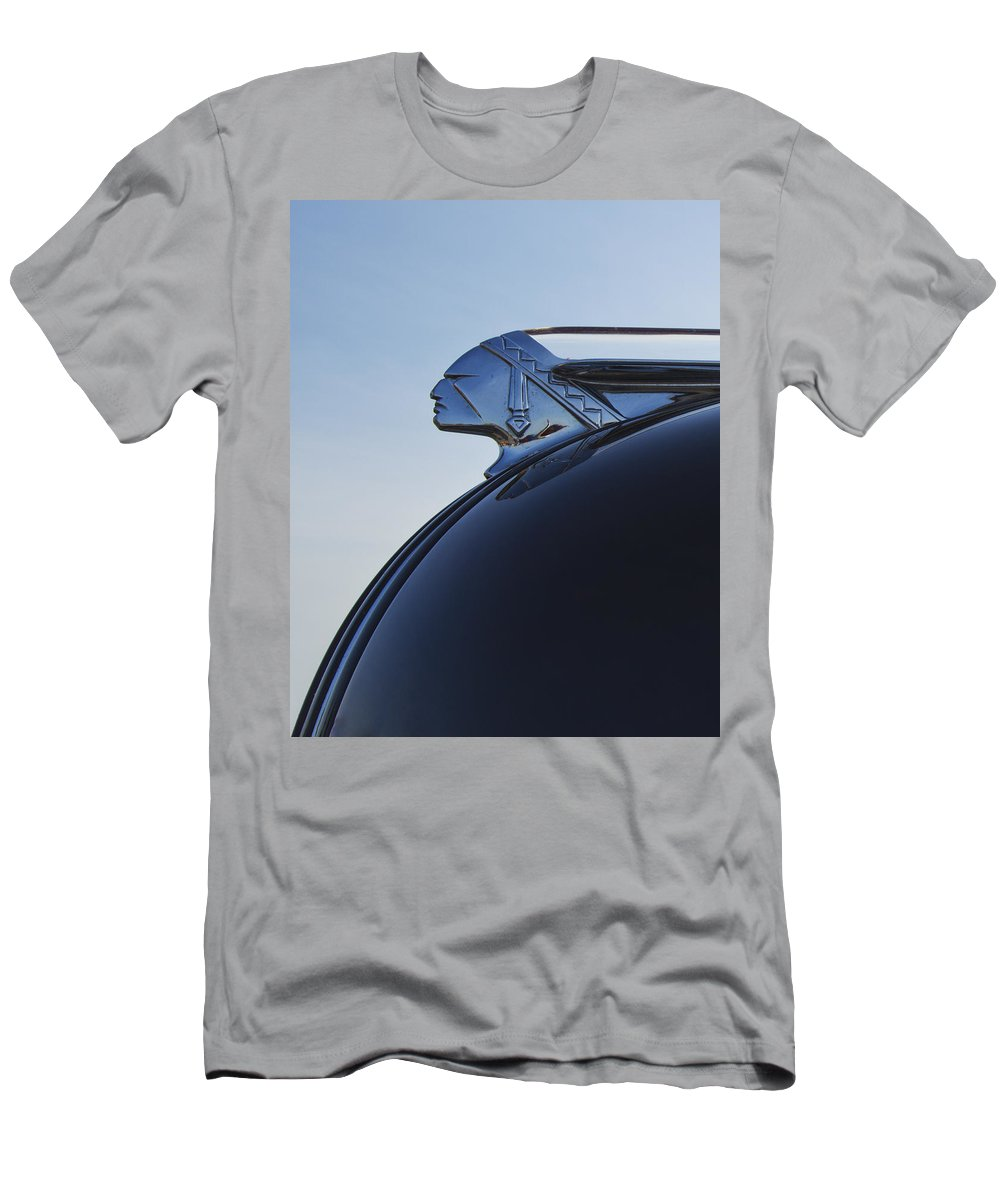 Car Men's T-Shirt (Athletic Fit) featuring the photograph Chief 2 by Guy Shultz