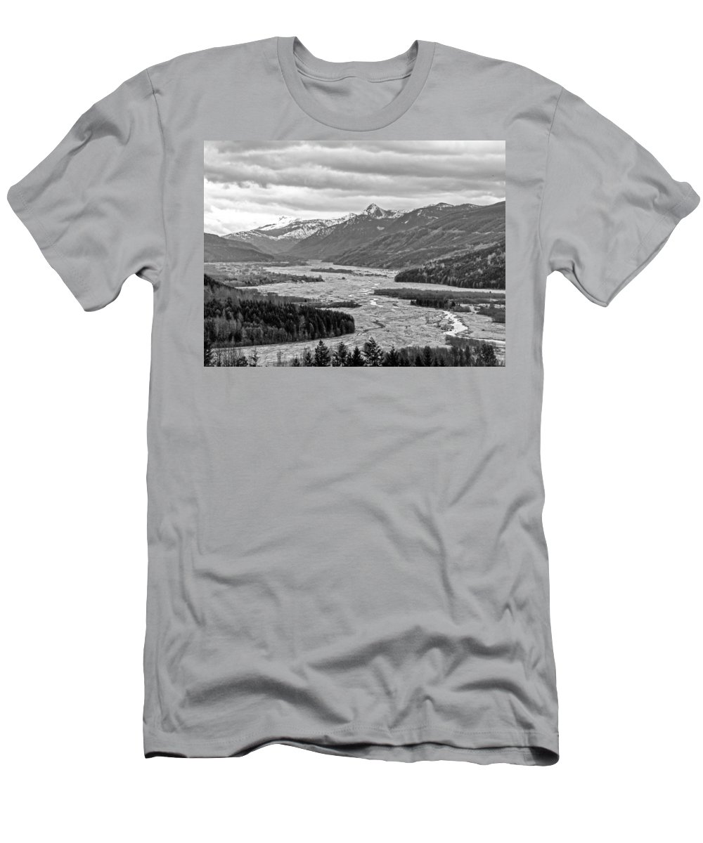 Mount Men's T-Shirt (Athletic Fit) featuring the photograph Mt. St. Helen's National Park by Anna Burdette