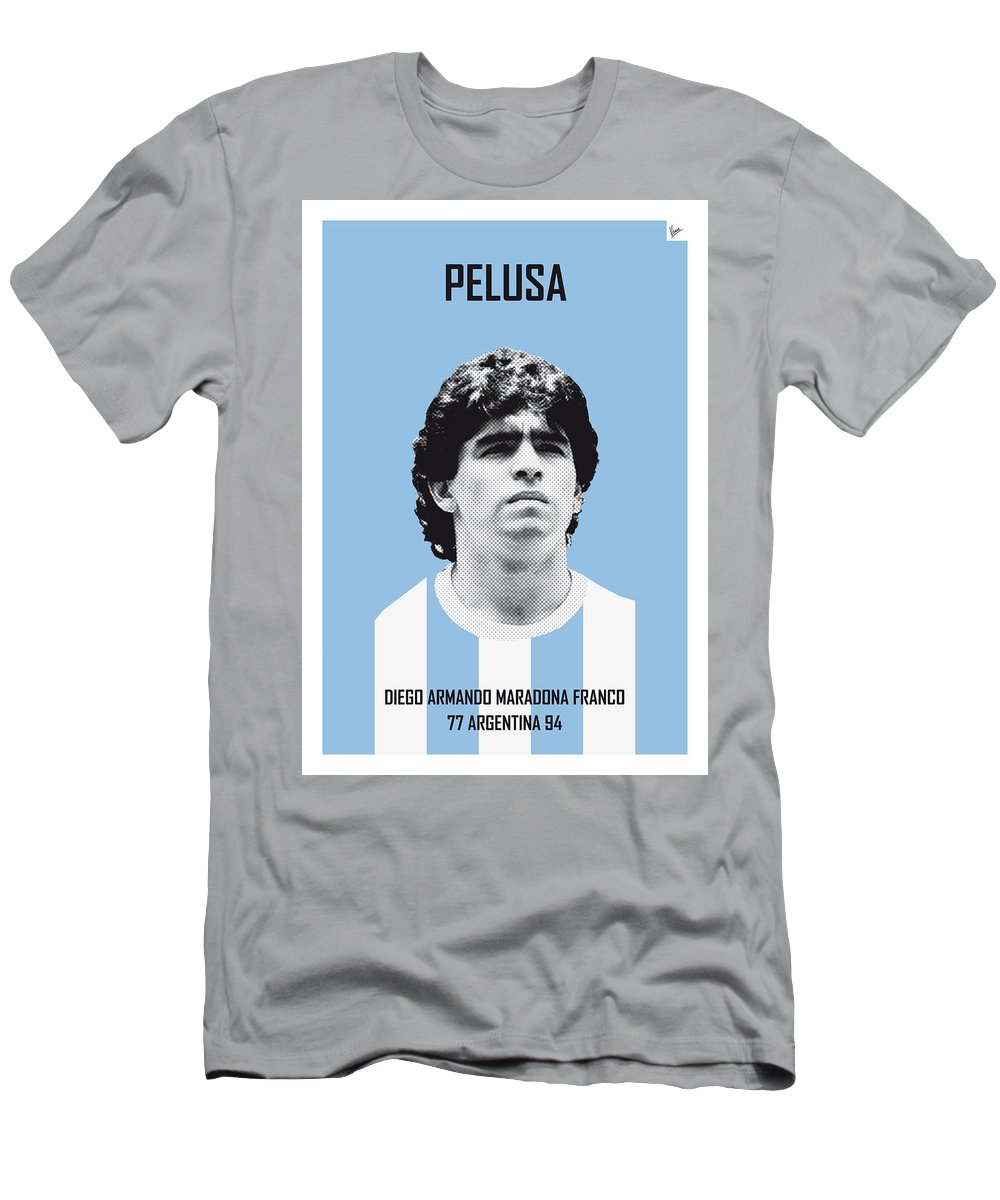 c2c3aa88109 Beckenbauer Men s T-Shirt (Athletic Fit) featuring the digital art My  Maradona Soccer