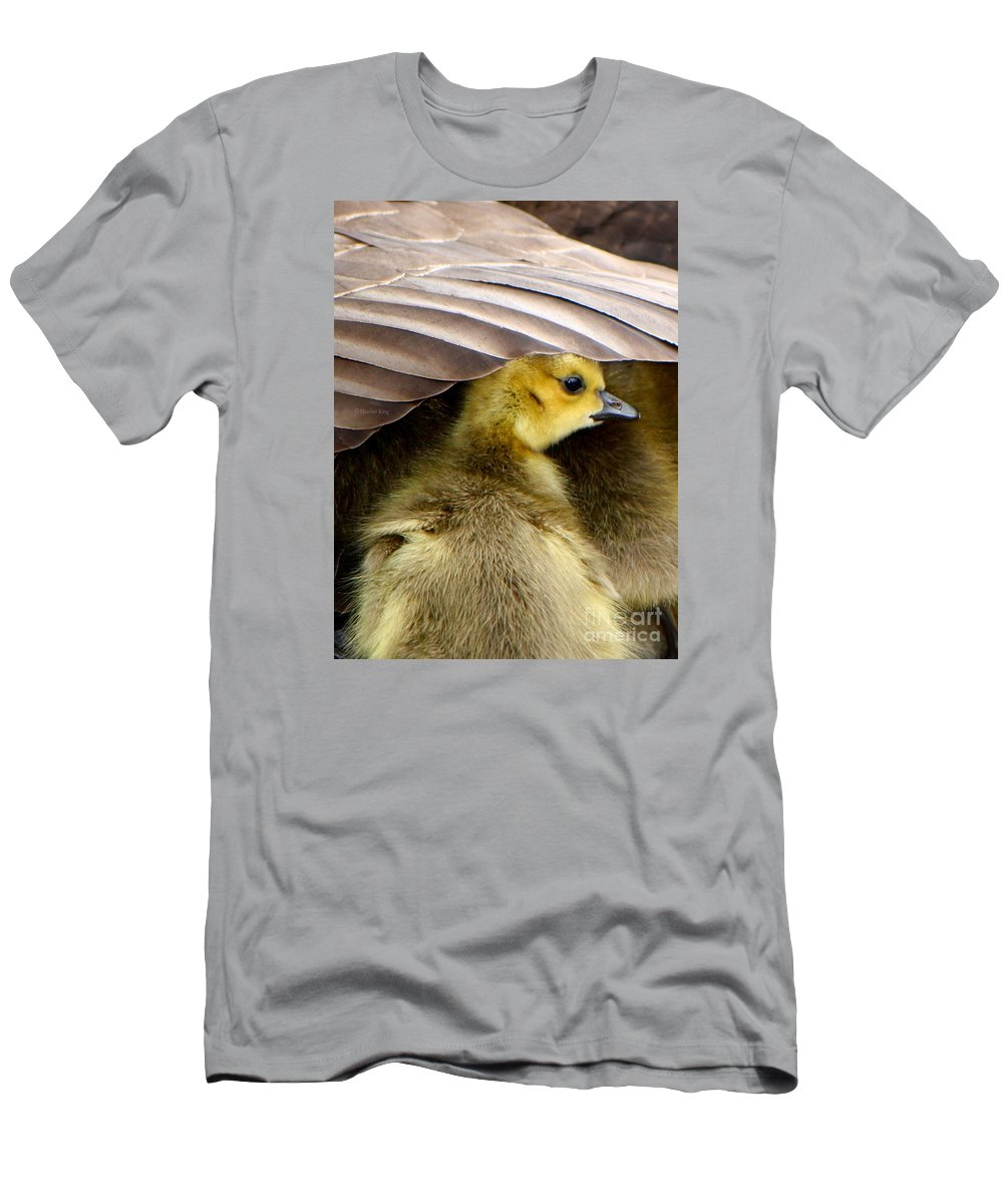 Canadian Goose Men's T-Shirt (Athletic Fit) featuring the photograph My Umbrella by Heather King