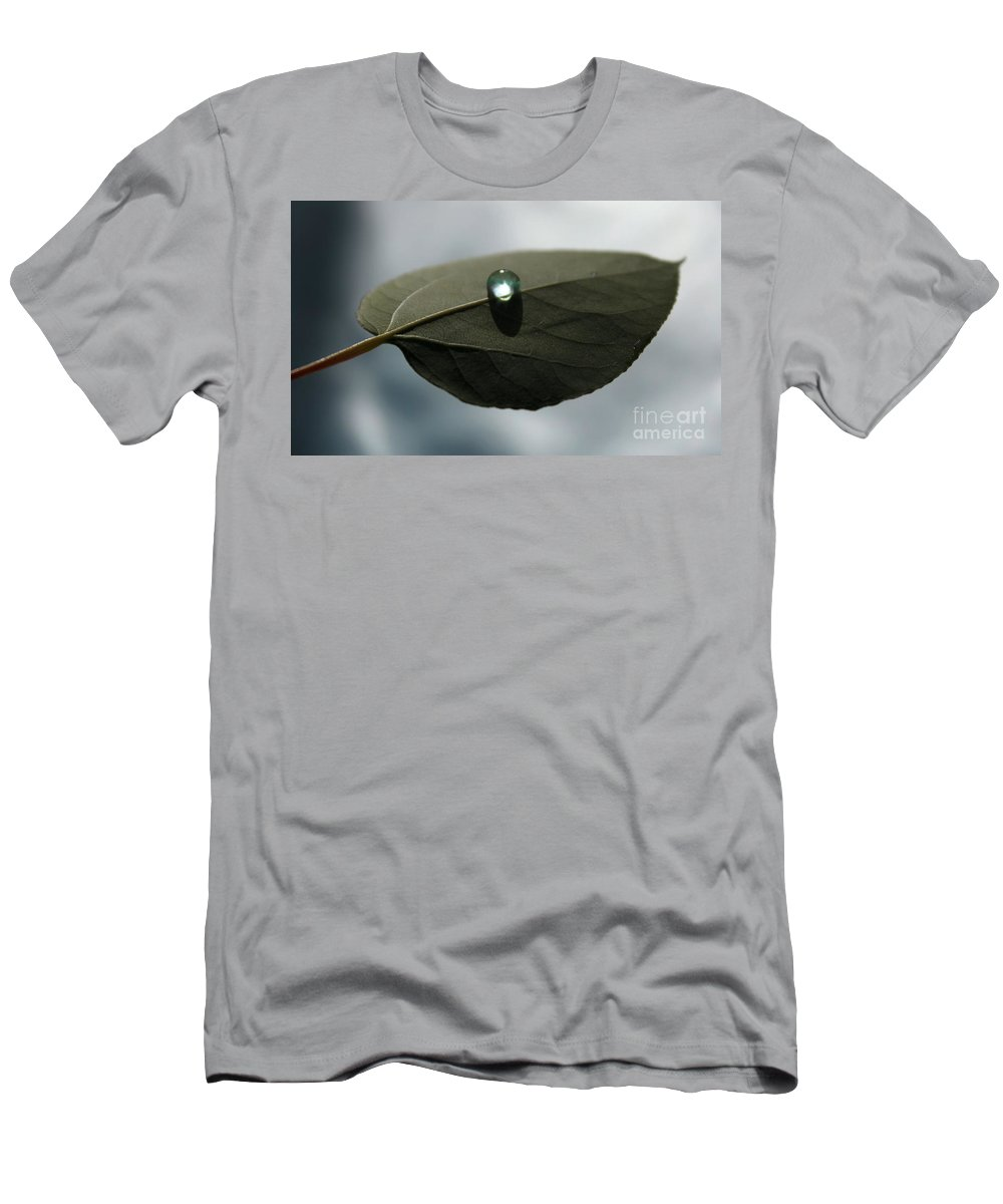 Leaf Men's T-Shirt (Athletic Fit) featuring the photograph Mystical Moments by Krissy Katsimbras