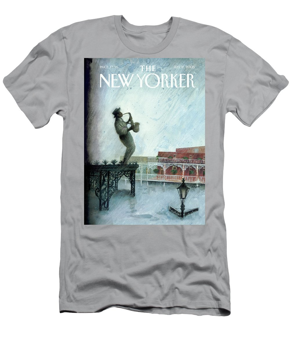 Nature T-Shirt featuring the painting Requiem by Ana Juan