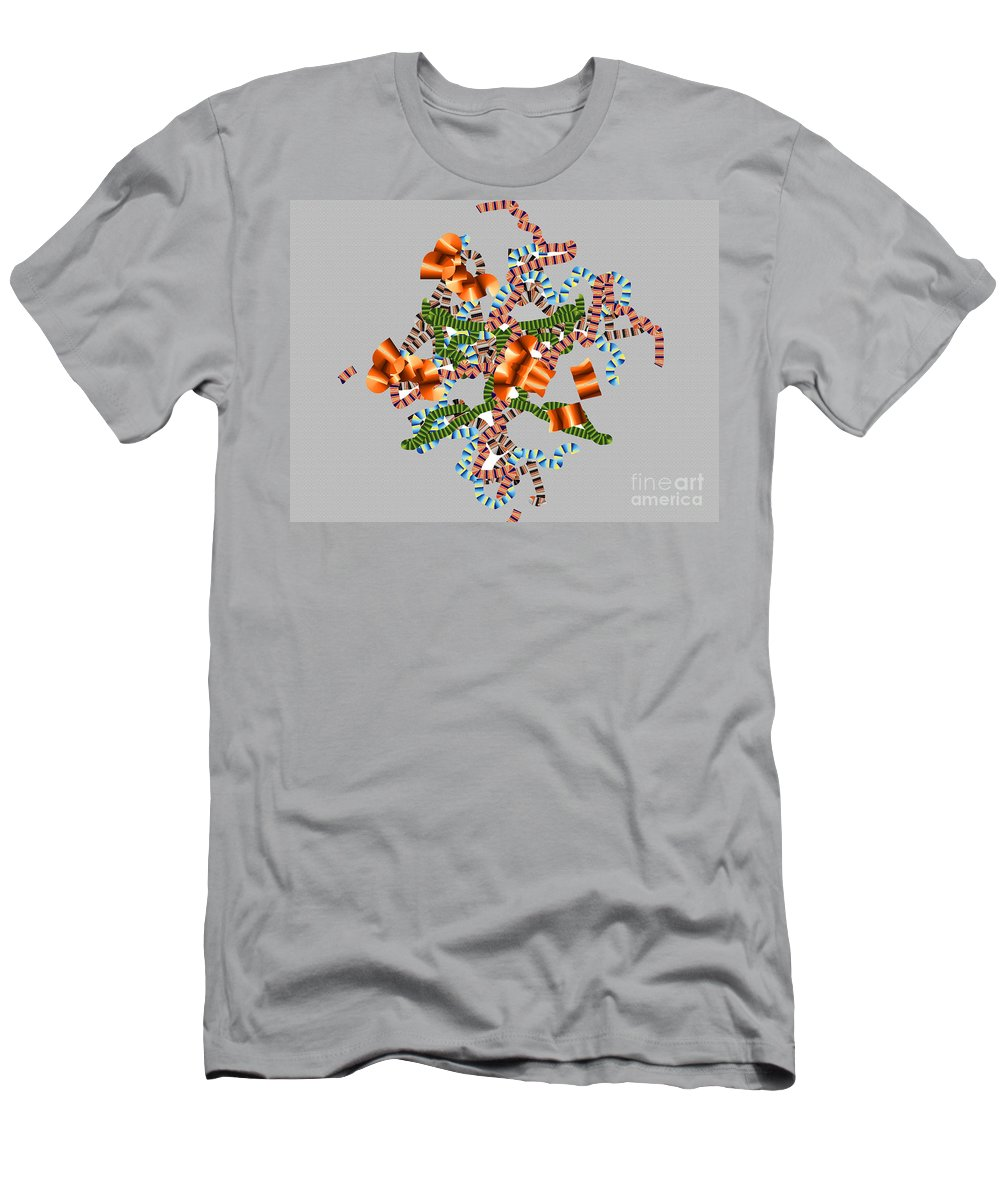 Men's T-Shirt (Athletic Fit) featuring the digital art No. 1139 by John Grieder