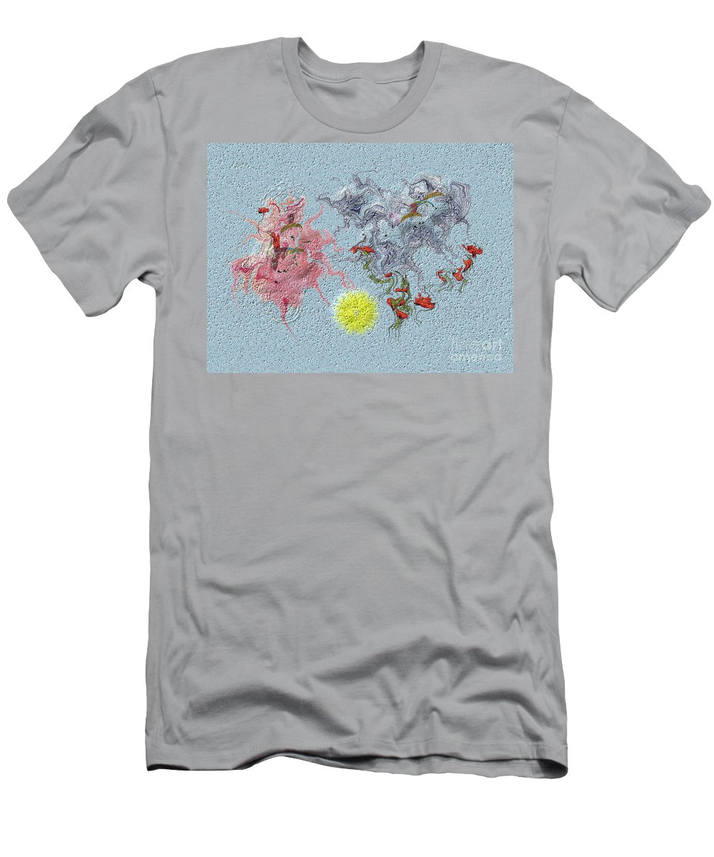 Men's T-Shirt (Athletic Fit) featuring the digital art No. 244 by John Grieder