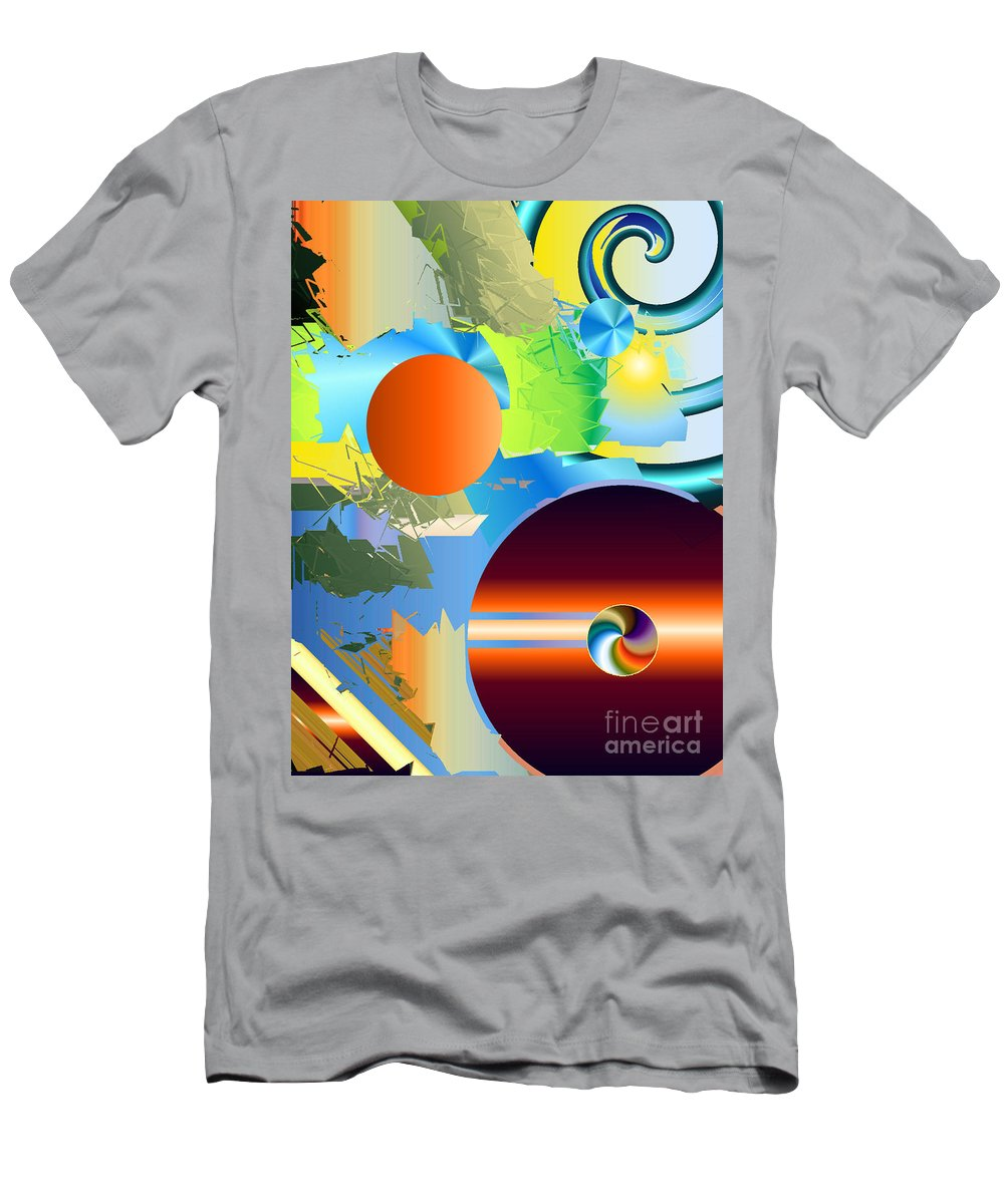 Men's T-Shirt (Athletic Fit) featuring the digital art No. 247 by John Grieder