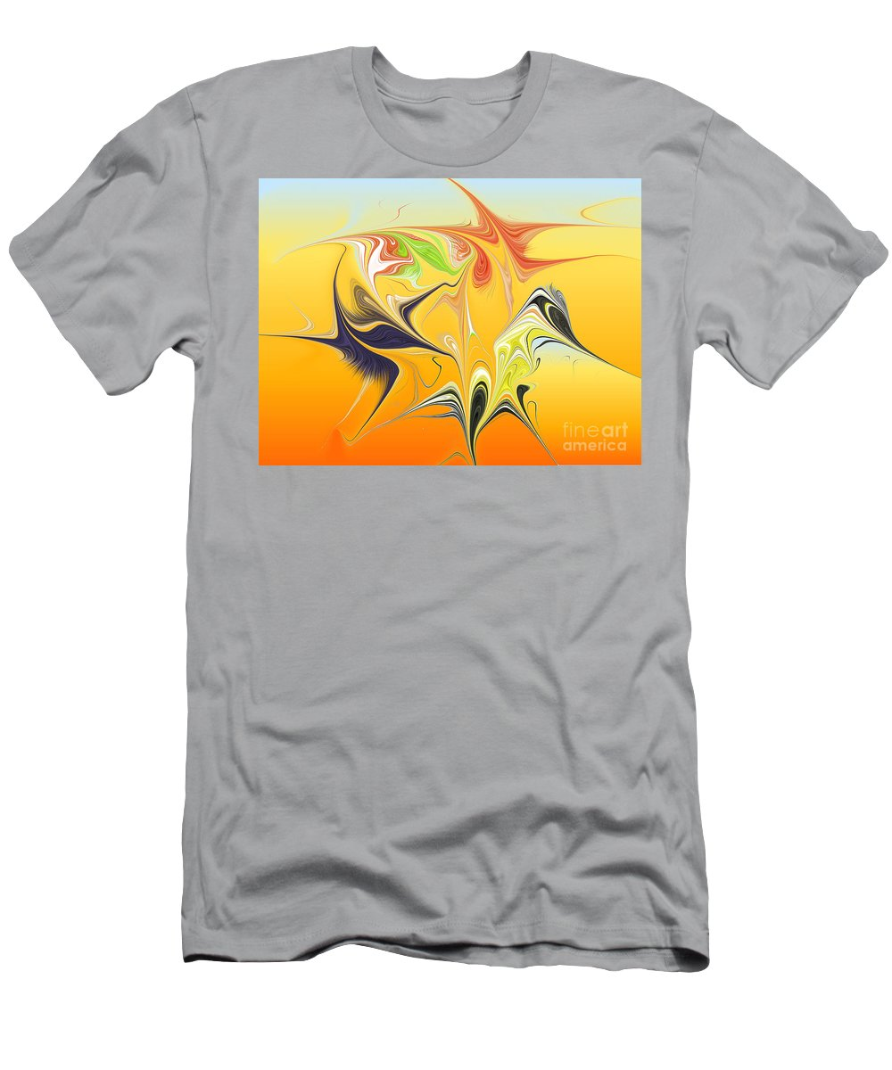 Men's T-Shirt (Athletic Fit) featuring the digital art No. 248 by John Grieder