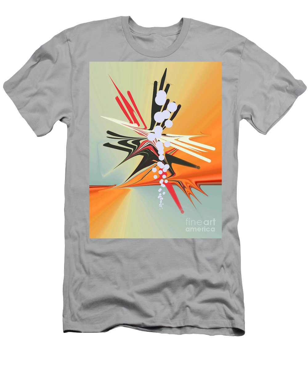 Men's T-Shirt (Athletic Fit) featuring the digital art No. 815 by John Grieder