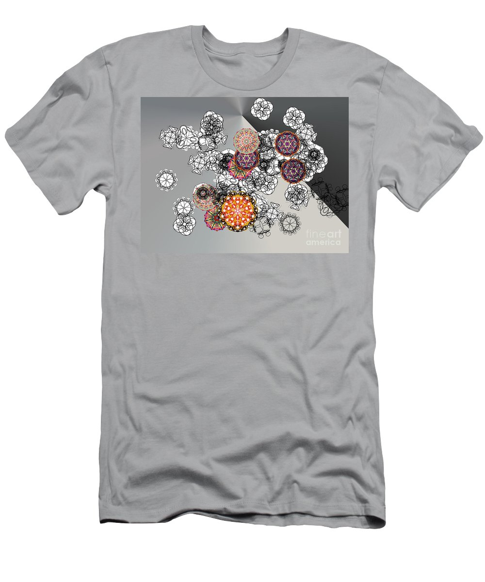 Men's T-Shirt (Athletic Fit) featuring the digital art No. 825 by John Grieder